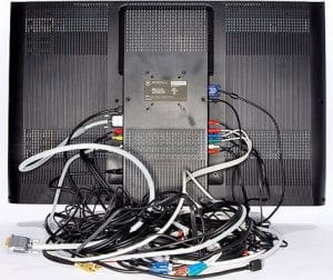 Take a photo of how your electronics are connected so you can remember how and where all the wires go.