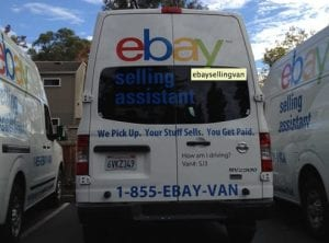 Rented truck Driver Selling thing before you move.