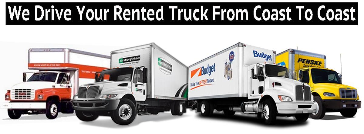 RENTED TRUCK DRIVER | Uhaul |Penske | Budget Logo