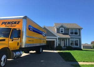 Rented Truck Driver will drive your Penske truck for your DIY move.