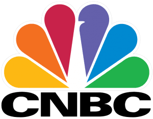 The CNBC Logo. RENTED TRUCK DRIVER was featured on CNBC