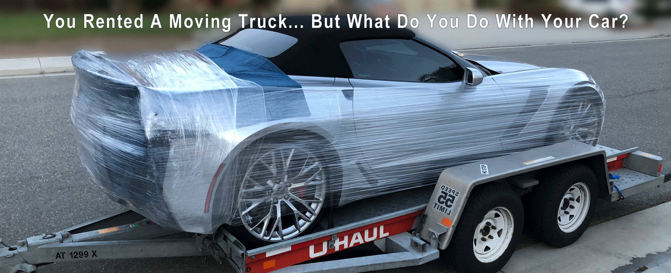 We Tow Your Vehicle Behind Your Moving Van So You Don't Have To