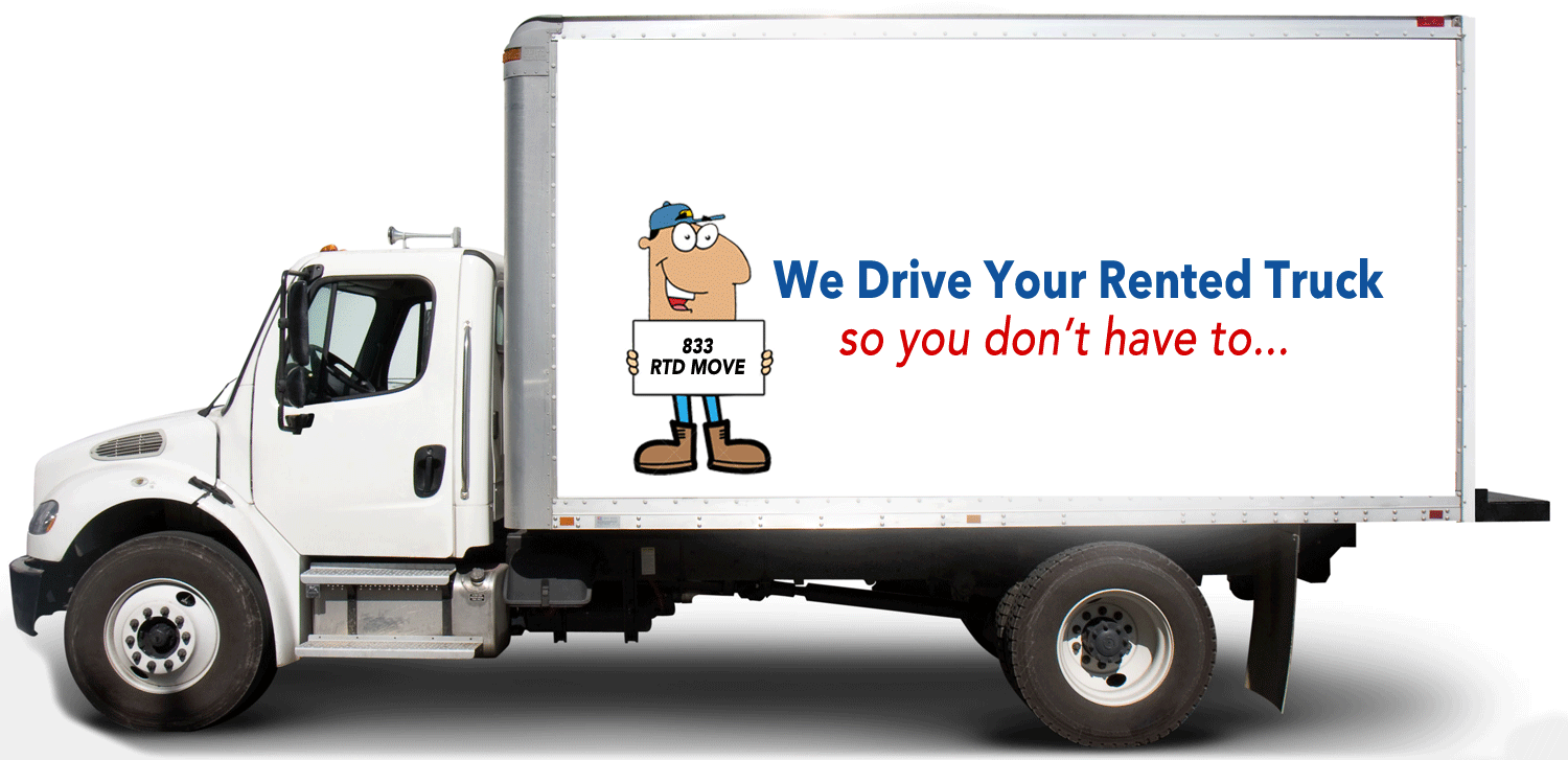 Rented Truck Driver   We drive your rented truck so you don't have to